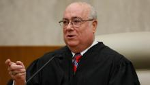 Judge Royce C. Lamberth is pictured during a ceremony at the federal courthouse in Washington, May 1, 2008.