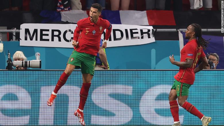 Portugal reach Euro 2020 knockout stages-Cristiano Ronaldo equals all-time international goalscoring record