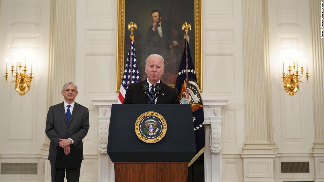 Biden speaks about gun violence