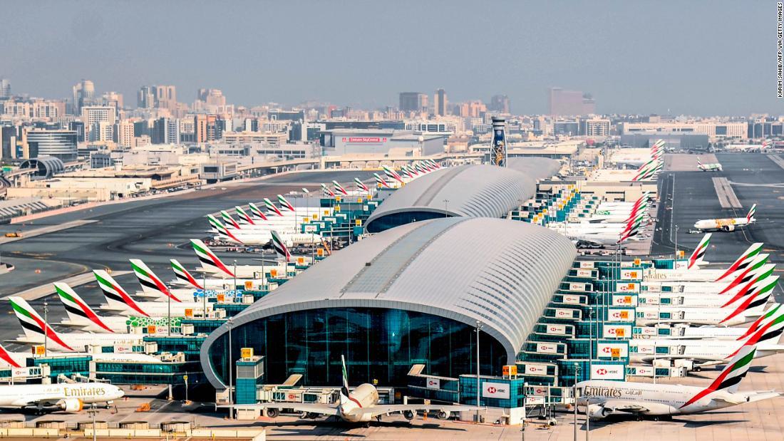 Deserted Dubai Airport terminal comes back to life