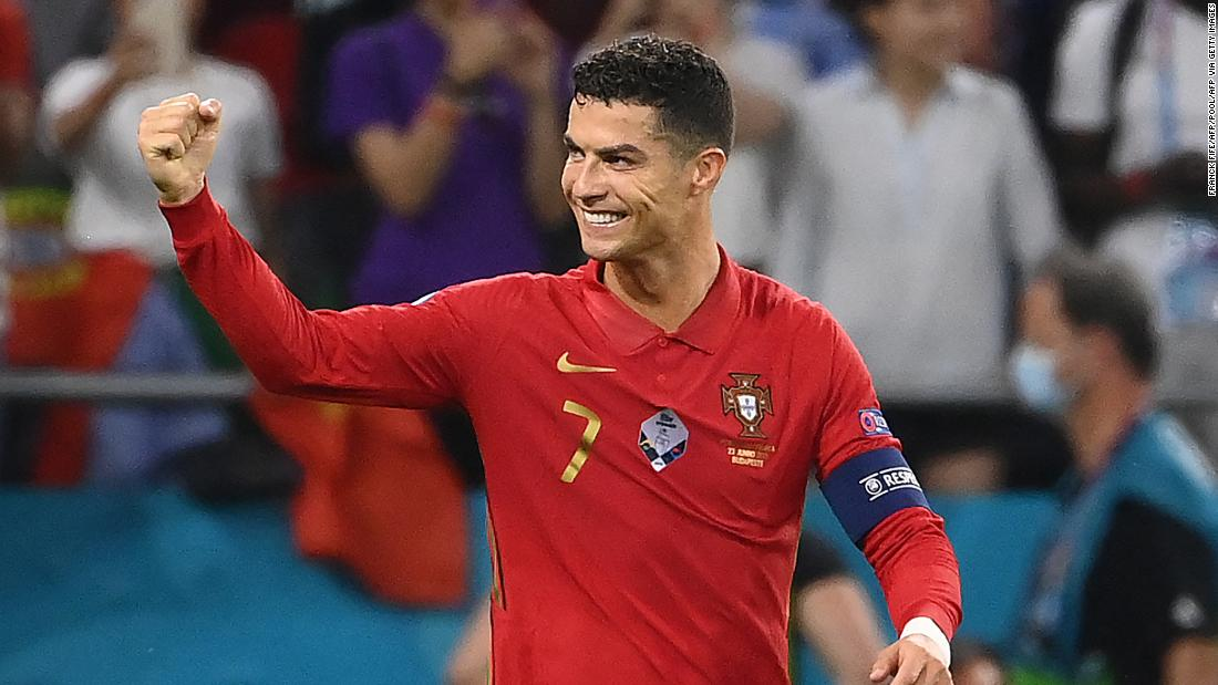 Cristiano Ronaldo equals all-time international goalscoring record as Portugal reach Euro 2020 knockout stages