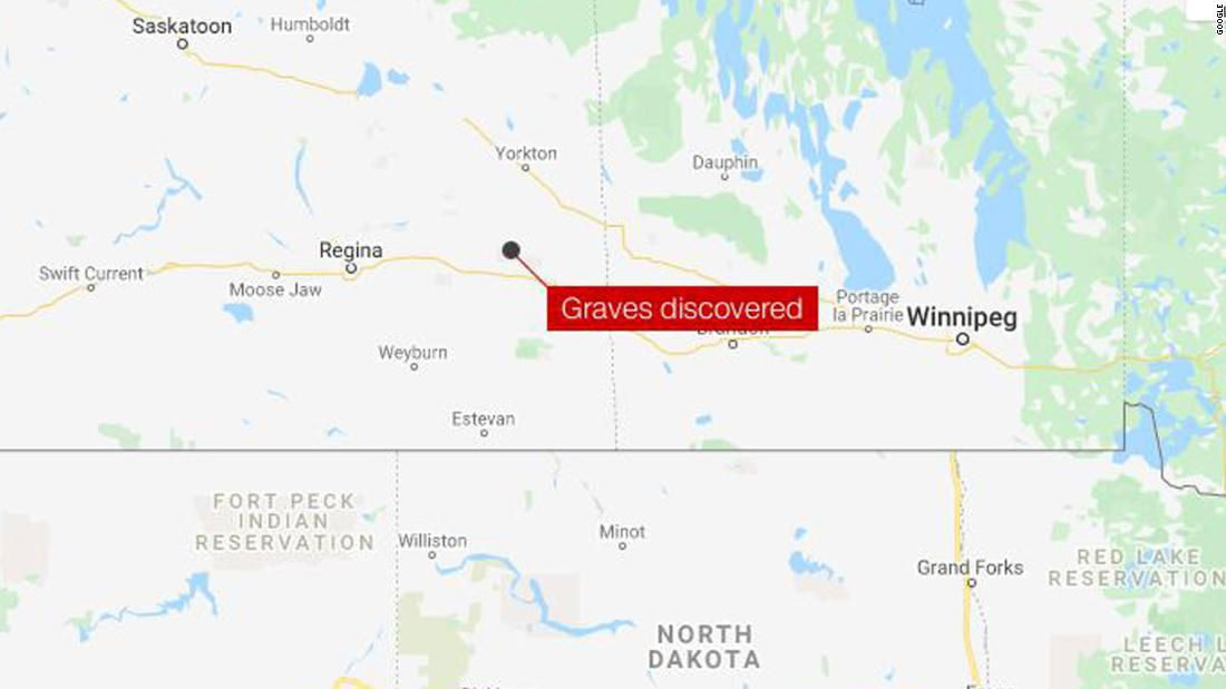 Hundreds of unmarked graves discovered at a former residential school in Canada officials say – CNN