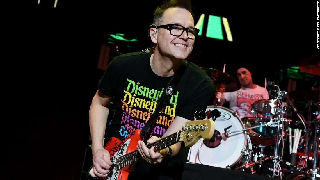 Blink-182's Mark Hoppus reveals he's undergoing cancer treatment