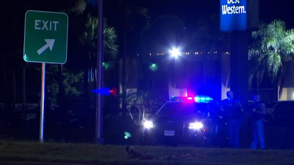 Florida's Volusia County is in lockdown, according to authorities, as they search for a suspect.