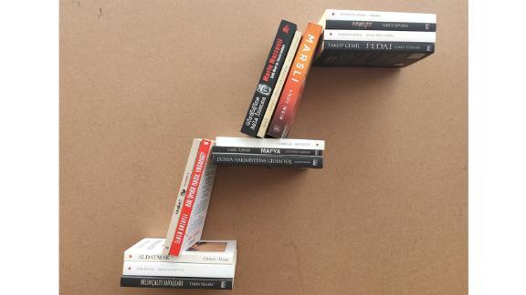 Invisible Floating Bookshelf