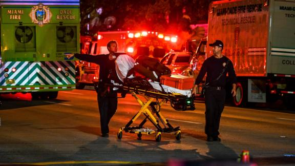 More than 80 rescue units responded to the scene, Miami-Dade Fire Rescue said.
