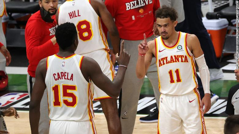 Trae Young scores 48 points as Atlanta Hawks beat Milwaukee Bucks in Eastern Conference finals opener