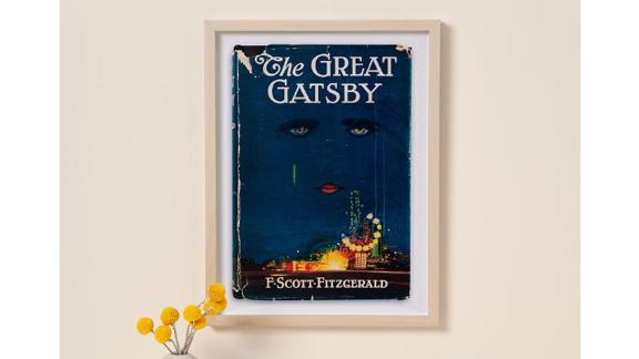 First Edition Book Cover Art Print