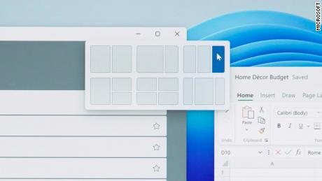 """New """"snap layouts"""" will make it easier for Windows users to navigate between multiple open apps at once."""