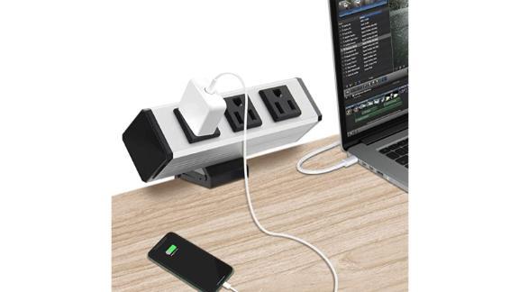 Desk Clamp Power Strip