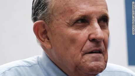 Rudy Giuliani is geschorst als advocaat in de staat New York