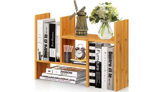 Desktop Bookshelf with Drawers