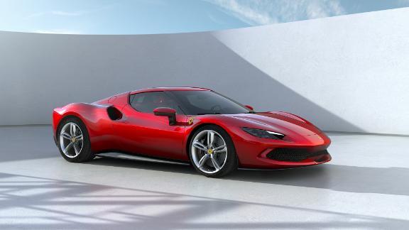 La Ferrari 296 GTB est une hybride rechargeable avec un moteur V6.