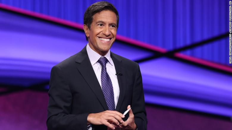 """CNN Chief Medical Correspondent Dr. Sanjay Gupta will guest host """"Jeopardy!"""" for the next two weeks."""