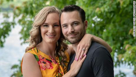 Kira Tutko and Dan Sgro, an engaged couple who had planned to get married this June, now will tie the knot in 2022.