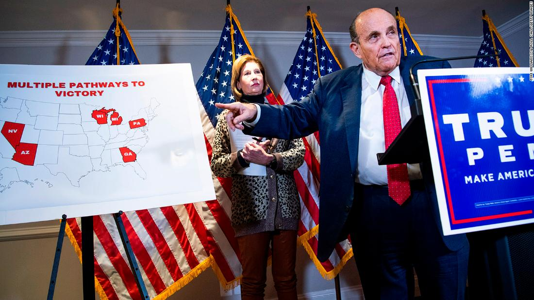 How Rudy Giuliani's massive ego saved the country from an utter disaster on election 'fraud'
