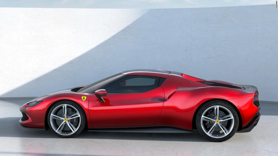 See Ferrari's new plug-in hybrid