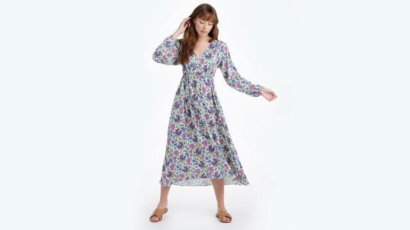 Summersalt caftan dress with cinched waist