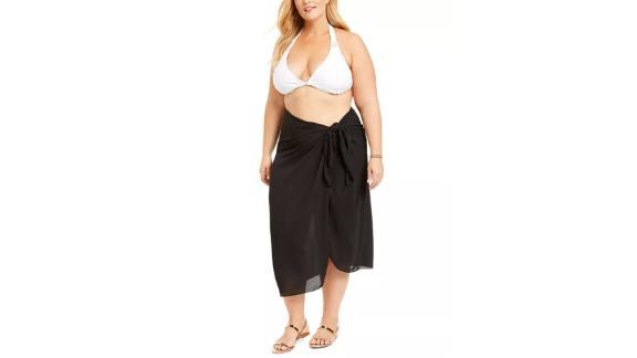 Dotti Plus-Size Summer Sarong Long Pareo Cover-Up