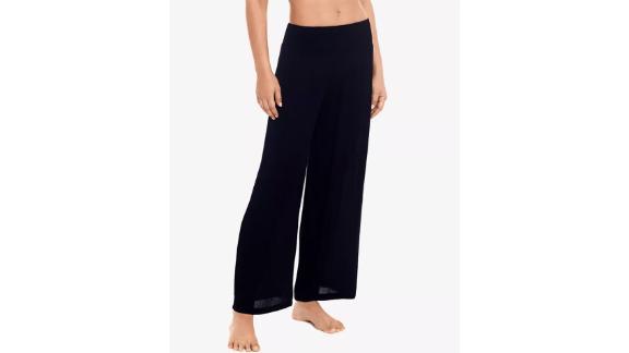 Lauren Ralph Lauren Crushed Smocked Cover-Up Pants