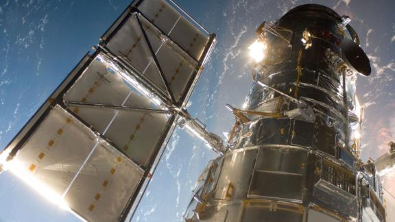 The Hubble Space Telescope is a project of international cooperation between NASA and the European Space Agency.