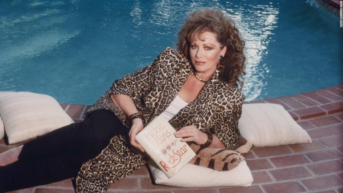 The tragic love story behind Jackie Collins' house