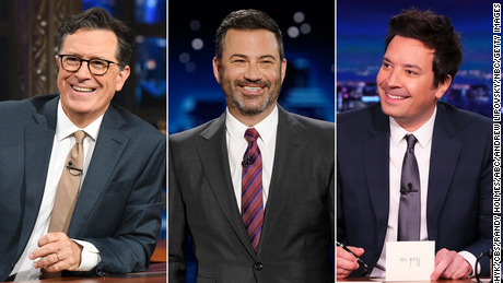 Late-night TV is back, and so is America (almost)