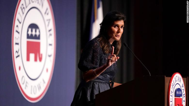 Nikki Haley tests the Iowa waters while the base yearns for Trump