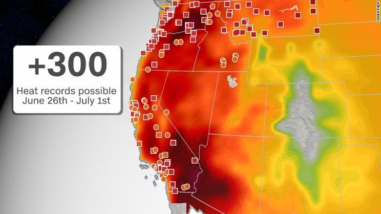 Heat wave forecast: A long-duration heatwave begins today in Oregon,  Washington and Idaho - CNN