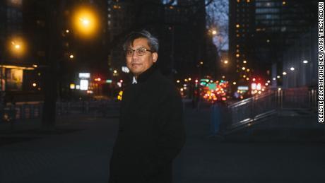 Kyaw Moe Tun, Myanmar's ambassador to the UN, on February 11, 2021.