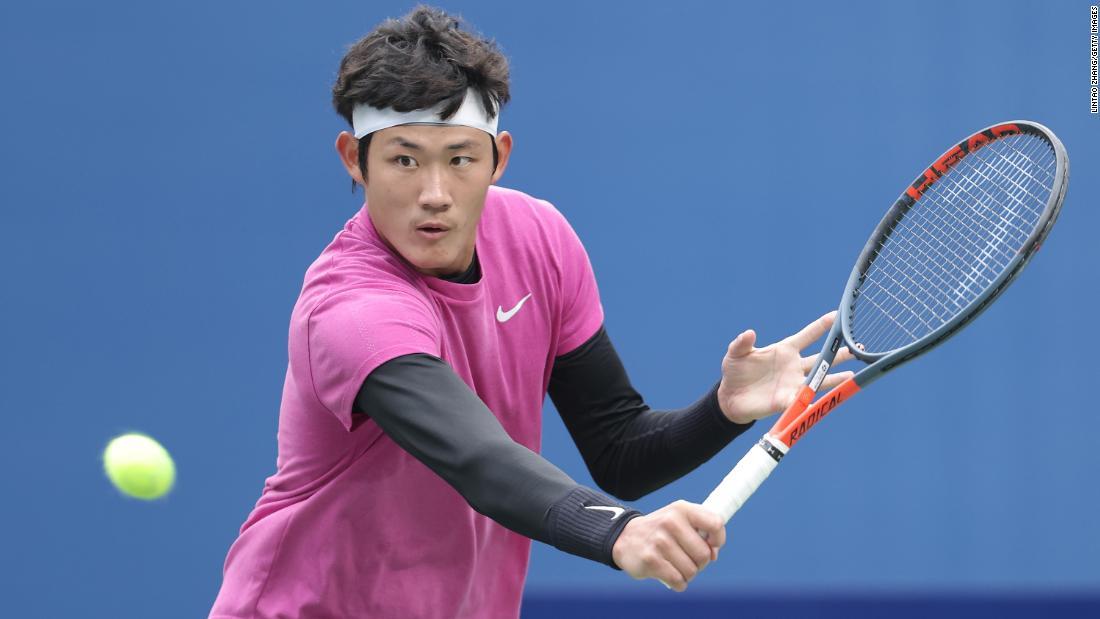 Zhang Zhizhen becomes first Chinese man to qualify for Wimbledon in Open Era