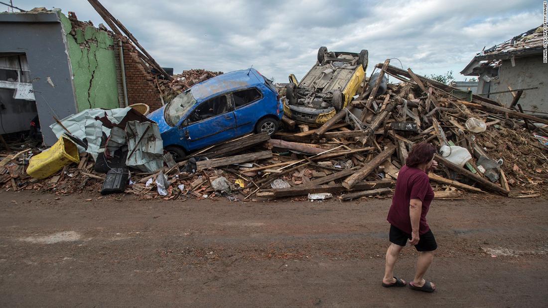 Three killed as tornado wreaks havoc in Czech Republic