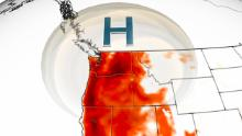 Last month was the hottest June on record for the lower 48 states