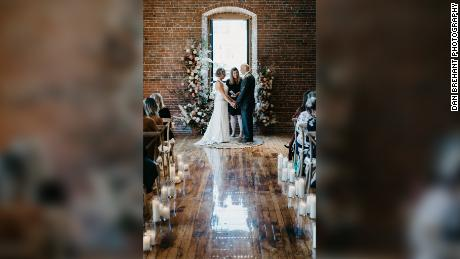 On April 26, Peter and Lisa Marshall found themselves back at the alter.