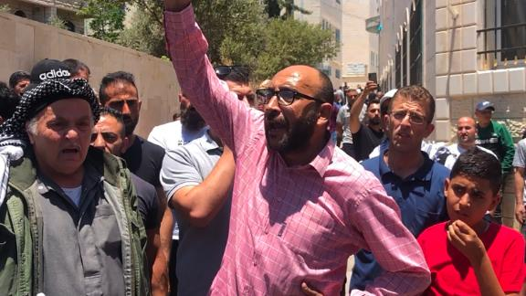 Mazeed Saqf Al-Hait expressed anger in the operation which resulted in Banat's death.