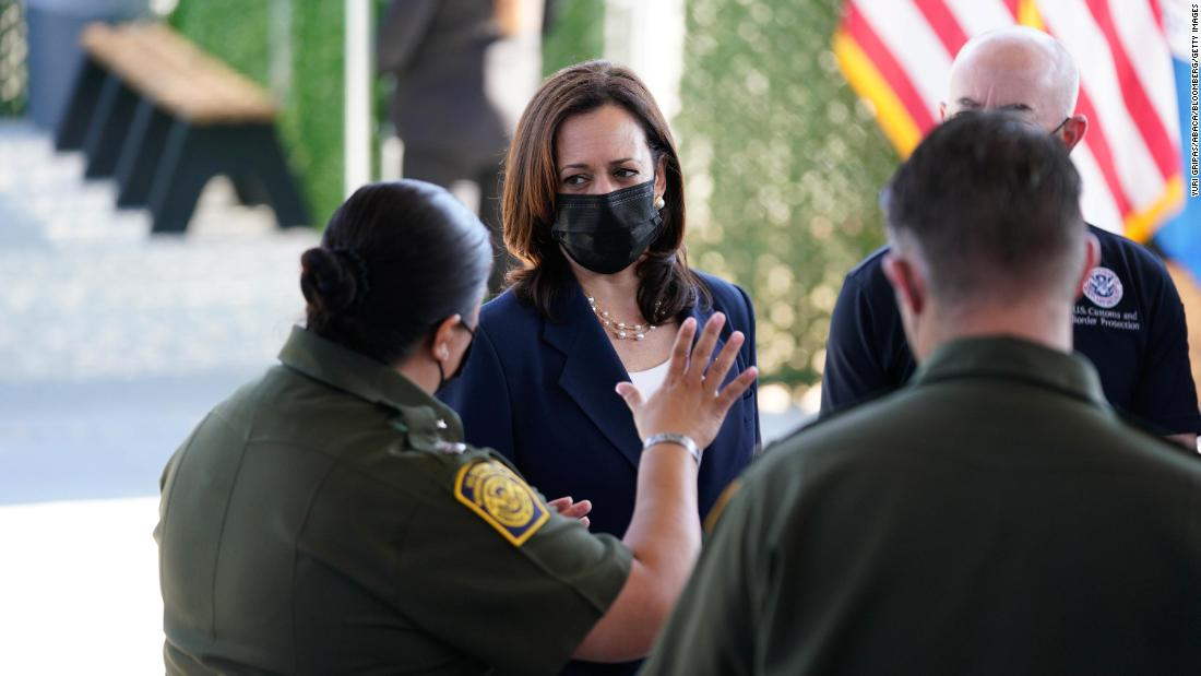 Kamala Harris still trying to solve what's rapidly becoming the wrong immigration battle