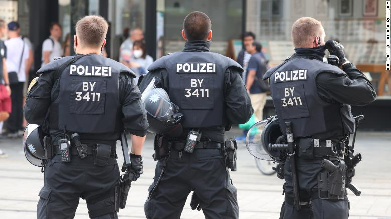 Several people killed and injured after knife attack in German town, police say