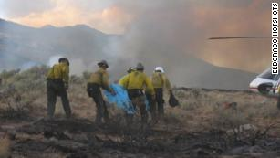 These are the hotshot firefighters leading attacks against California wildfires. And they're quitting