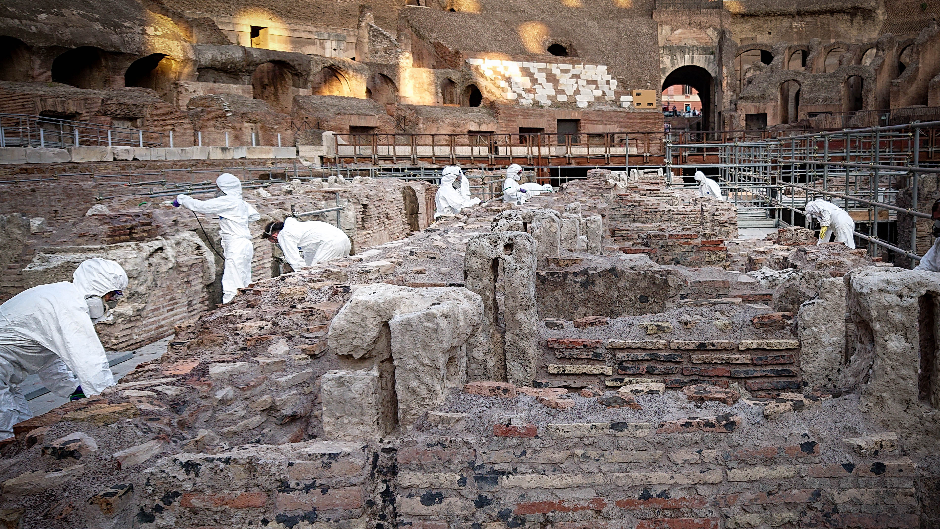 The Colosseum in Rome opens its underground levels | CNN Travel