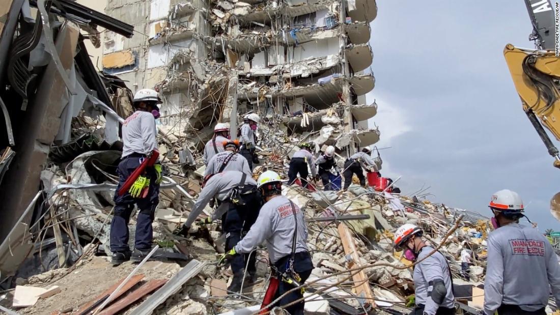 June 27, 2021 Surfside, Florida building collapse news