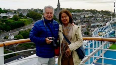Claudio and Maria Bonnefoy