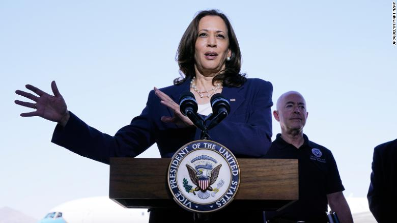 Harris plays it safe at US-Mexico border and releases pressure valve