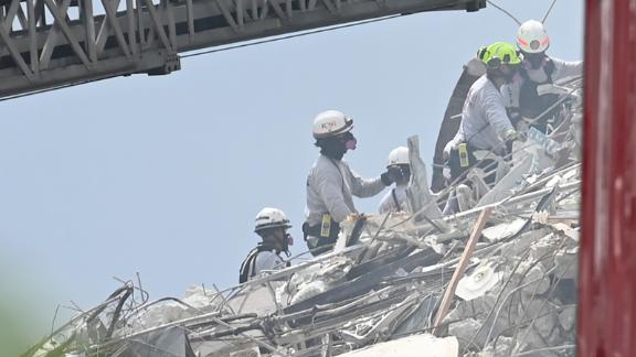 Image for Four of the five victims killed in the Florida building collapse were identified. 156 people remain unaccounted for