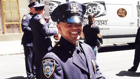 NYPD Officer Jason Samuel.