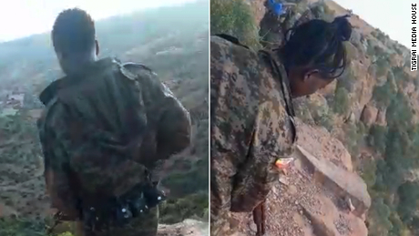 New video of Ethiopia massacre shows soldiers passing phone around to document their executions of unarmed men
