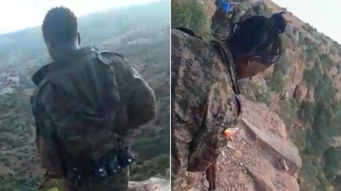 Ethiopia massacre tigray video RESTRICTED