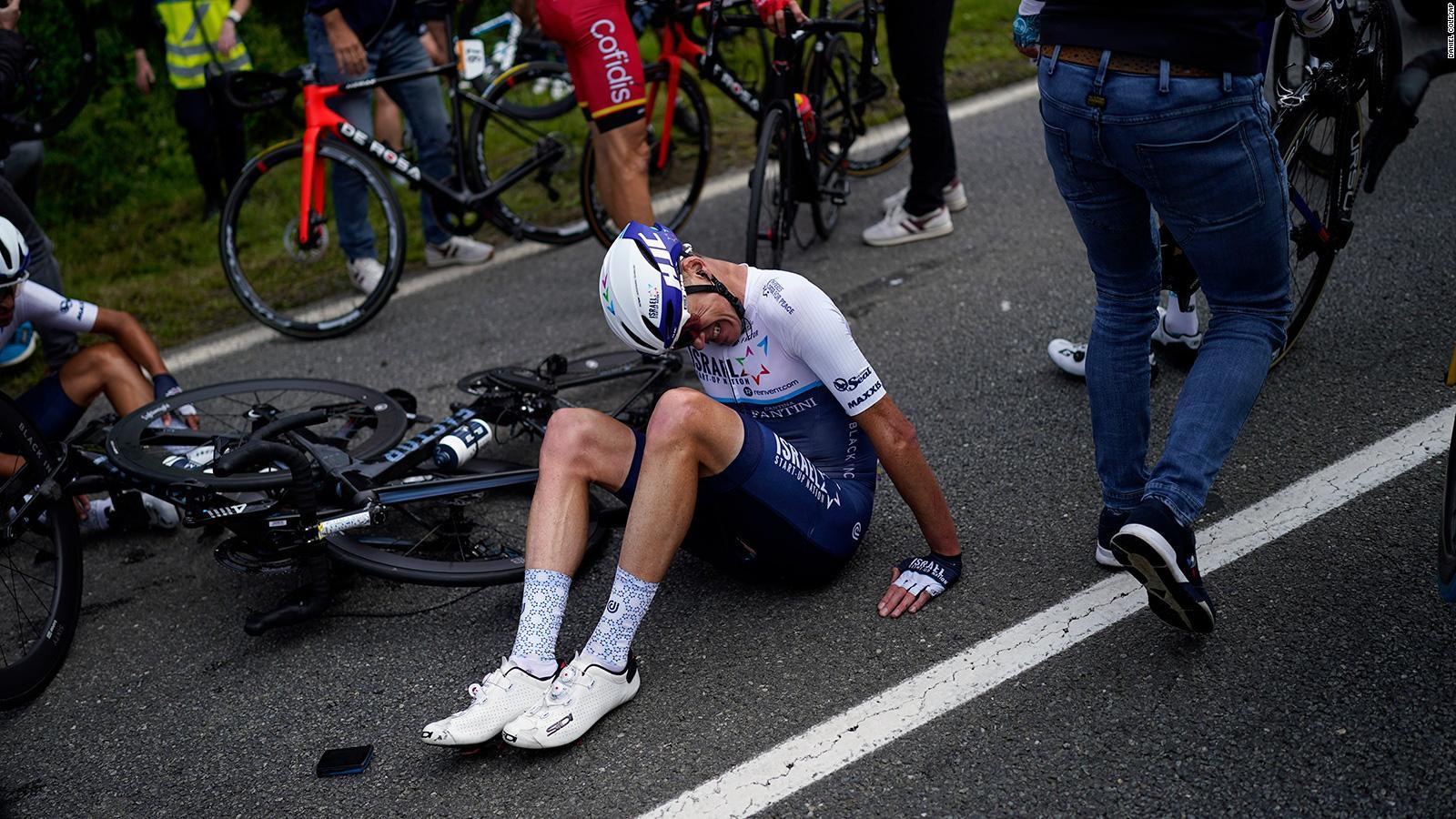 Watch Video: Spectator causes worst crash ever at Tour de