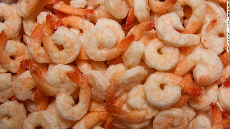 Avanti Frozen Foods recalls several shrimp products linked to salmonella outbreak