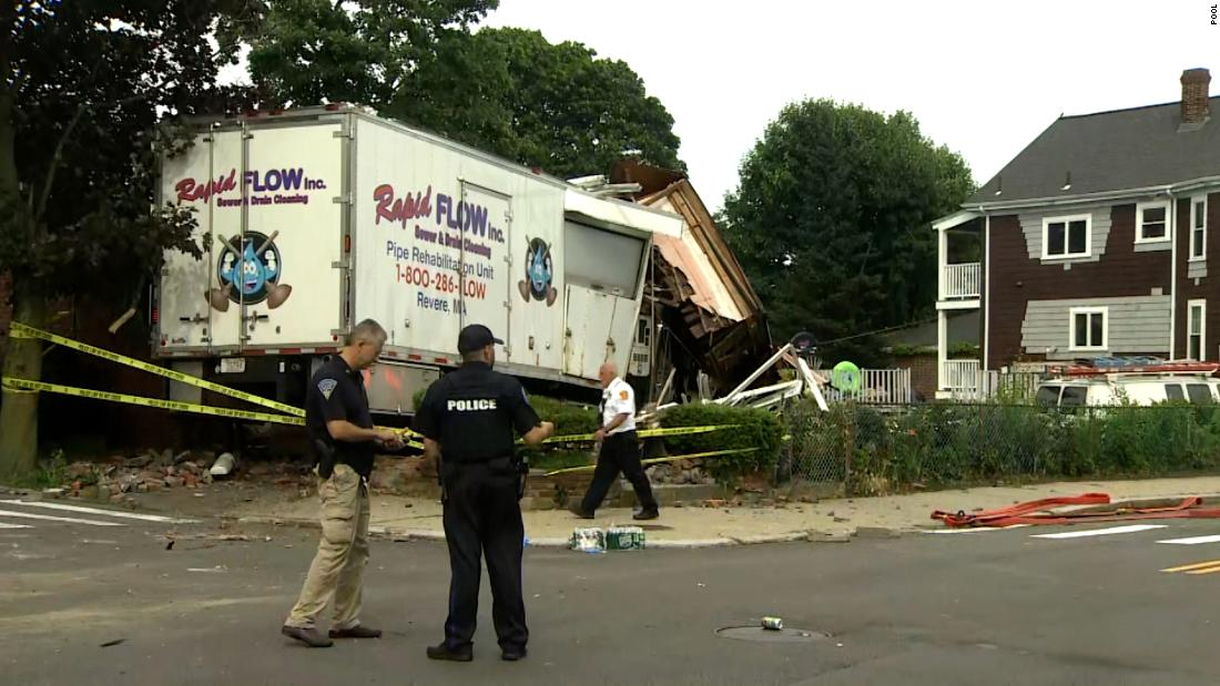 MA police fatally shoot gunman who killed two people after crashing stolen truck
