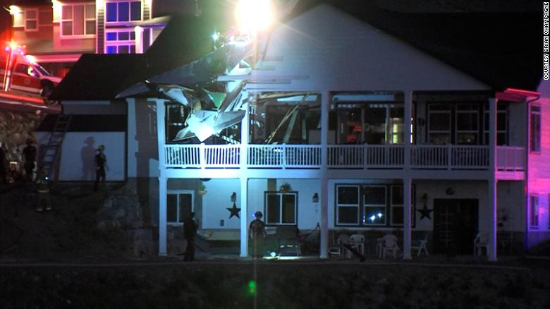 One Person Dead After Small Plane Crashes Into Utah Home